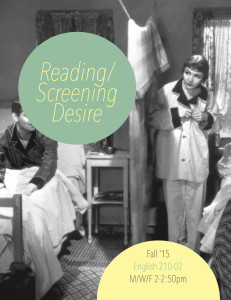 Reading/Screening Desire (Fall 2015)