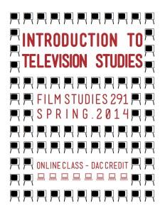 Television Studies (Spring 2013)