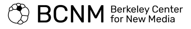 Berkeley Center for New Media Logo