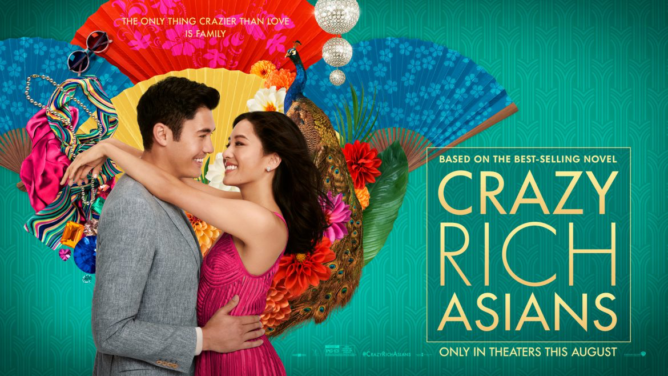 film poster for Crazy Rich Asians